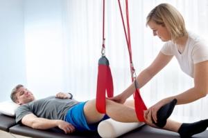 Red-cord training kan gebruikt worden voor krachttraining bij beperkte motorische functie en/of voor training rompstabiliteit. Alleen mogelijk in Mijdrecht.